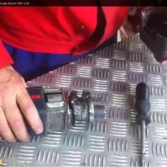 Cum se dezasambleaza o masina de gaurit cu percutie Bosch GBH 2-24