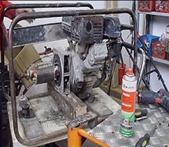 Generator electric ( cum se demonteaza rotorul )