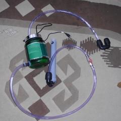 Filtru extern pentru acvariu DIY 5l ~700 l/h